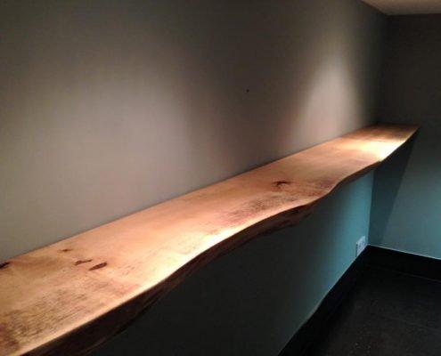 Wandplank Boomstammeubel